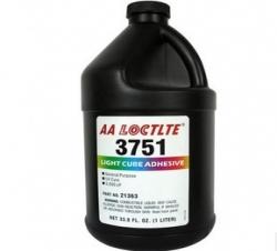 乐泰胶水3751紫外线固化胶/LOCTITE3751医用型